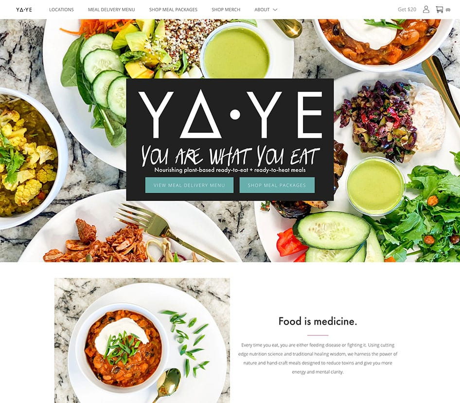 YaYe You Are What You Eat